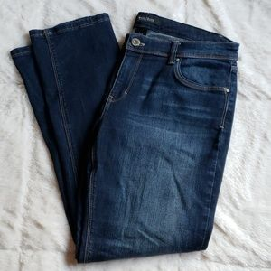 WHBM slim ankle denim jeans sz 10